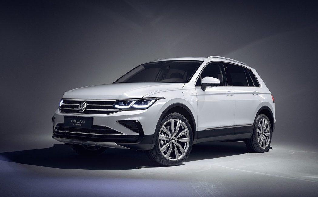 全新Volkswagen Tiguan e-HYBRID。 Volkswagen...