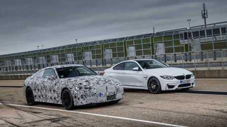 影/新世代BMW M4原型車下賽道了!這是6速手排變速箱嗎?