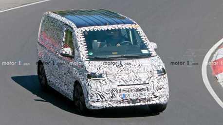 Volkswagen T系列商旅車款也要跑紐伯林?原來是全新T7!