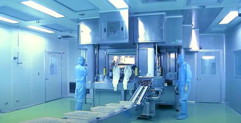 國光生技公司與國衛院合作開發新冠肺炎疫苗,4月初已進入動物試驗階段,成效頗佳,預計今年8月進行第一期人體臨床試驗。圖/國光生技公司提供
