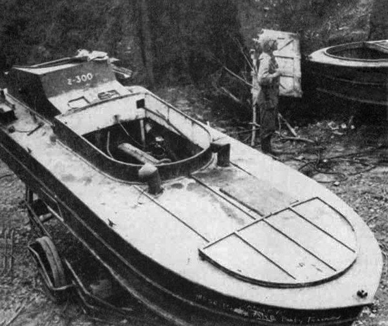 震洋特攻艇的一型艇。 圖/取自維基共享
