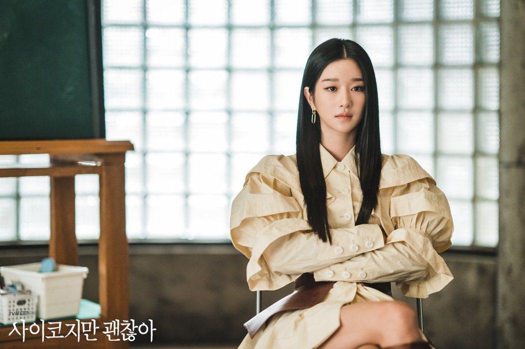 徐睿知飾演的高文英,雖是高人氣的童書作家,卻也有著反社會人格的障礙。 圖/tvN...