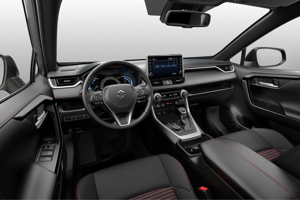 Suzuki Across內裝與RAV4基本上完全相同。 摘自Suzuki