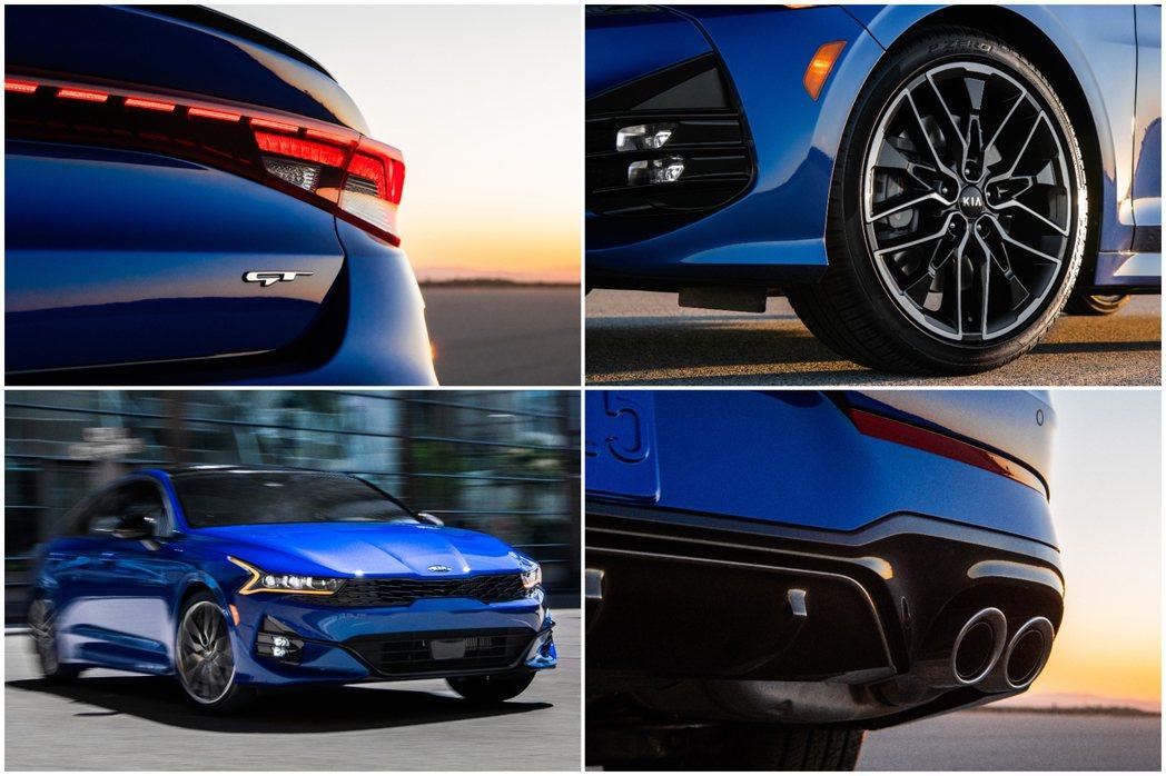 全新Kia K5 GT外觀特點。 摘自Kia