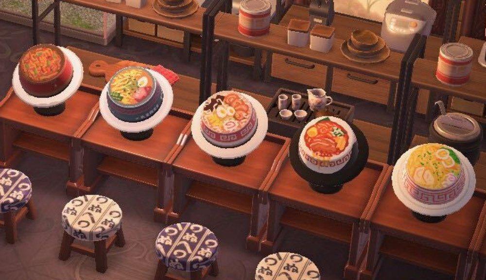 根據湯頭的顏色來看,味噌、豚骨、醬油拉麵一應俱全/圖片來源:reddit@emm...