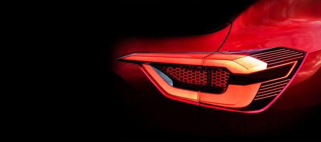 立體的尾燈造型也是Magnite的特色。 摘自Nissan India