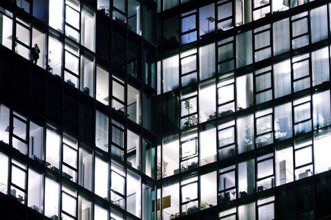 圖為法蘭克福金融區辦公大樓。 圖/歐新社