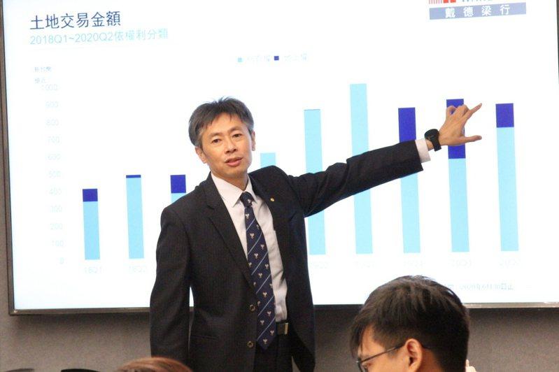 不動產估價師事務所長楊長達表示,南港未來發展的方向是一條帶狀軸線,預計會連動到台北商辦。(photo by 祝潤霖/台灣醒報)