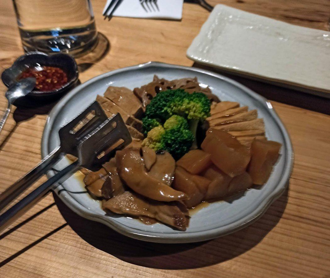 牛滷香拼盤
