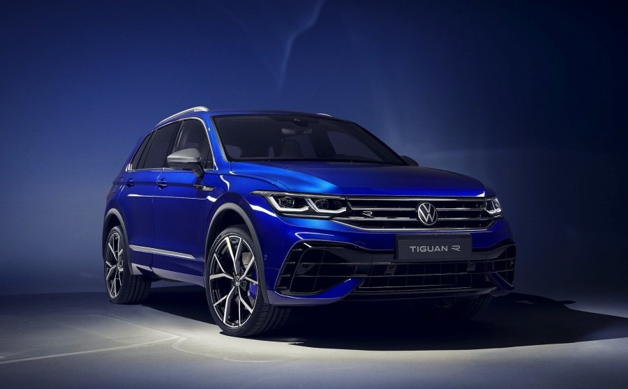 全新Volkswagen Tiguan R。 Volkswagen提供