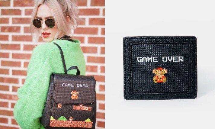 美國設計品牌Danielle Nicole最近延續之前超級瑪利歐系列主題,再度打...