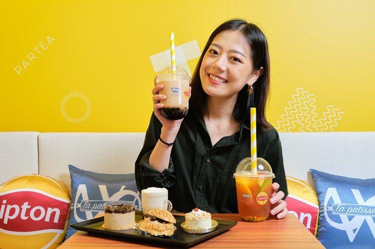 7月4日即將開幕的We Sweet Café╳立頓快閃聯名咖啡廳,是台北東區享用...