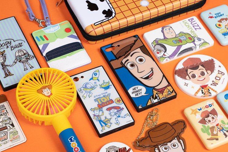 「Toy Story House」推出超過千款玩具總動員限定周邊。圖/主辦單位提...