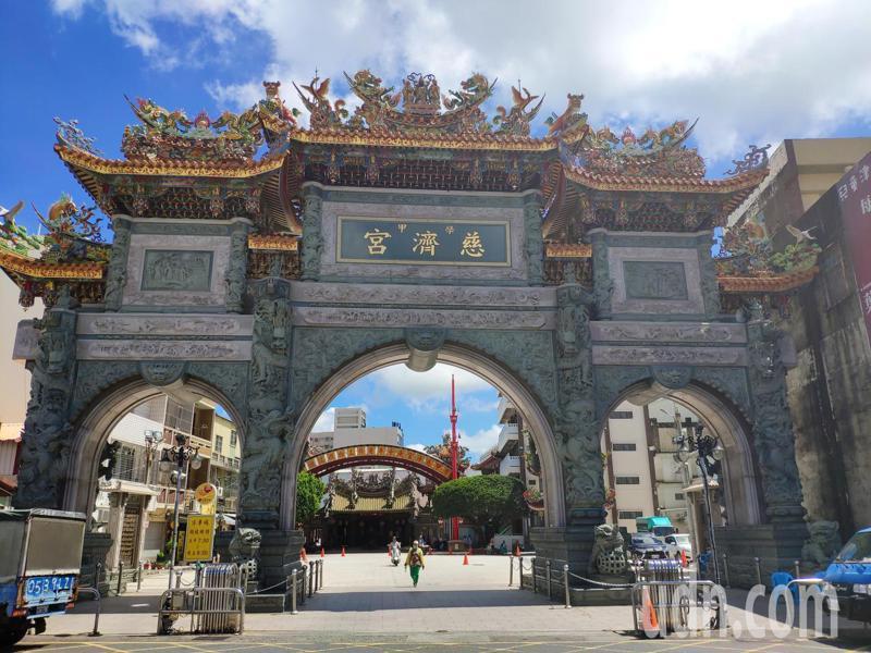 台南學甲慈濟宮信眾分布各地,有「台灣保生大帝總廟」稱謂。記者謝進盛/攝影