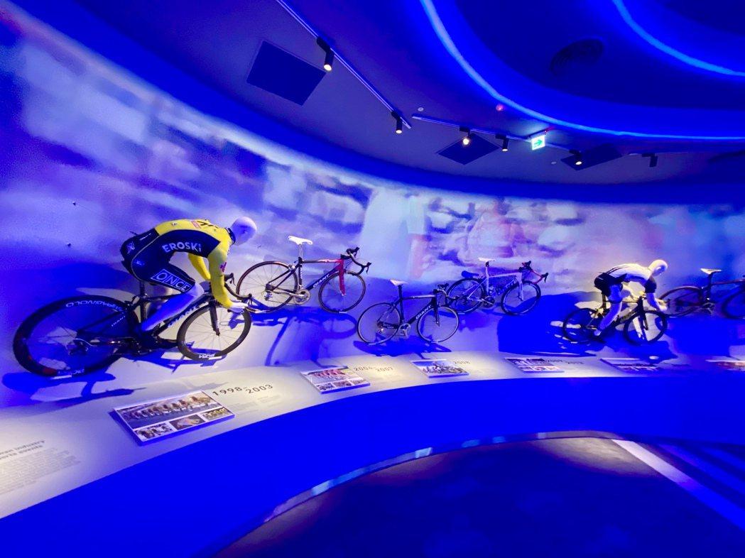 館內規劃有VR虛擬實境、沉浸式劇場與體感互動的場域。記者宋健生/攝影