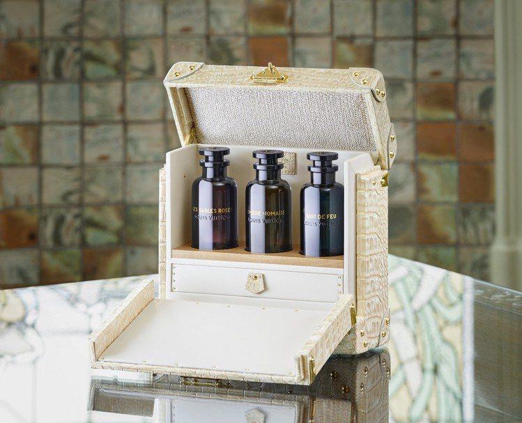 路易威登香水系列中,有向神秘中東香調致敬的支系,目前共推出3款香水。圖/LV提供