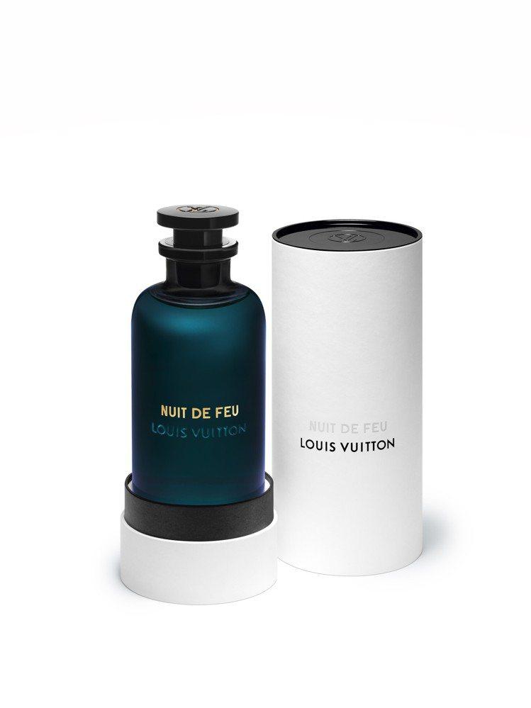 路易威登新款Nuit de Feu香水,100ml售價13,000元。圖/LV提...