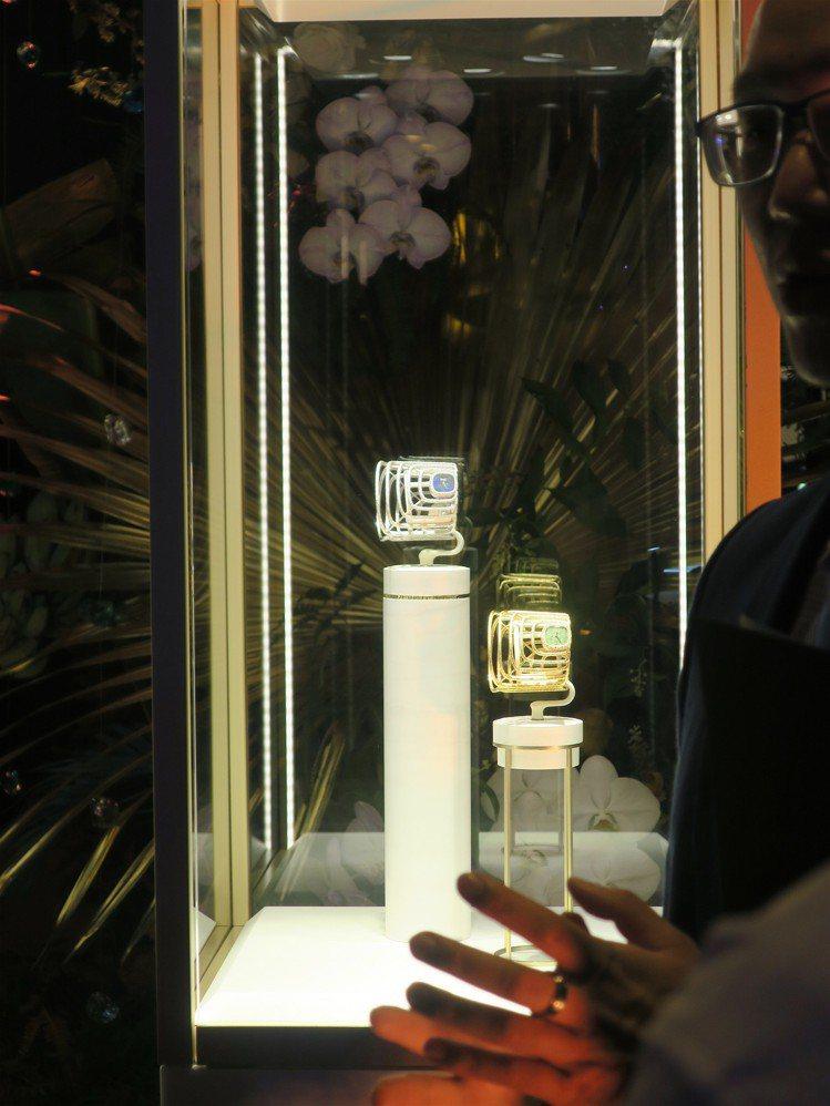 PIAGET Extremely Piaget系列高級珠寶手鐲腕表,散發鮮明的1...