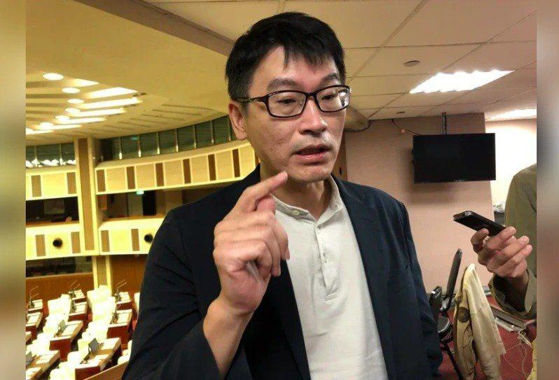 民進黨台北市議員梁文傑。圖/本報資料照片