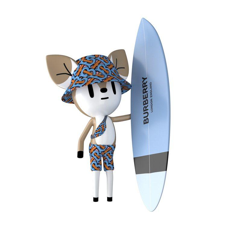BURBERRY預告B SURF遊戲即將在Burberry.com上線。圖/BU...