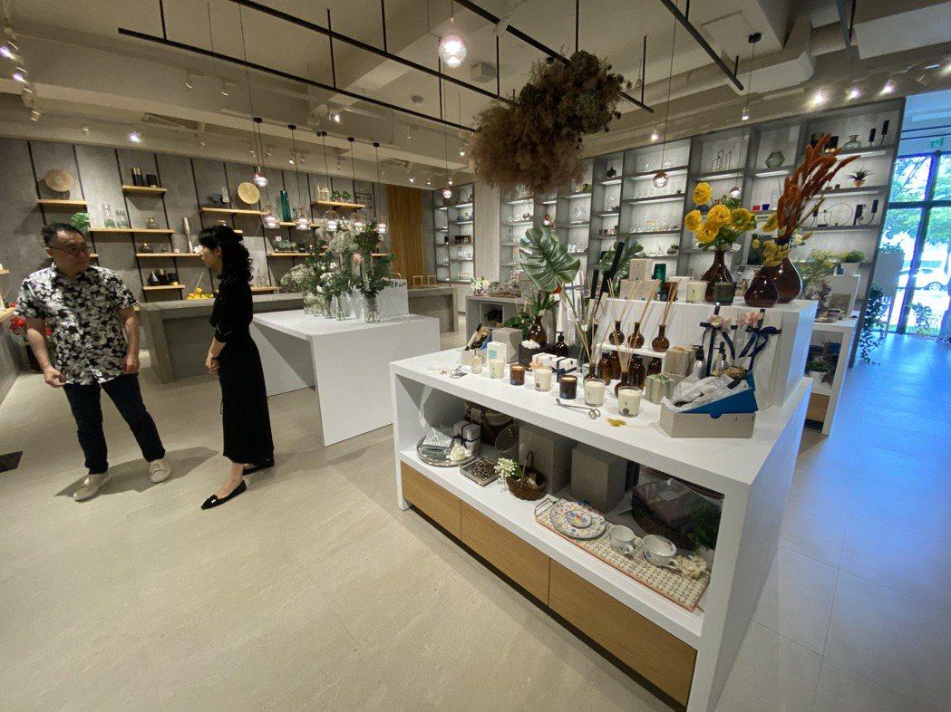 館內展示來自全球60個國家的風格家飾、80多個家居設計品牌。記者宋健生/攝影
