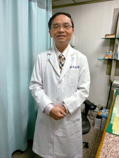 高雄市邱正義婦產科副院長陳愷鴻。記者蔡容喬/攝影