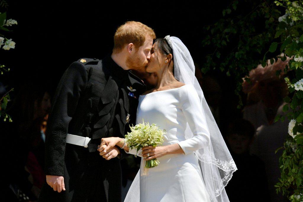梅根透過律師團隊表示,自己的婚禮反而為英國帶來10億英鎊的財源。圖/路透資料照片