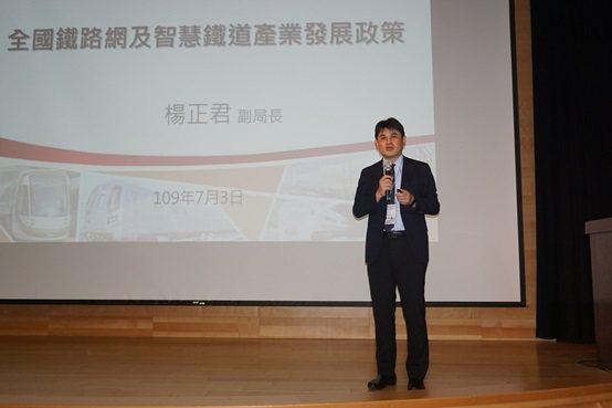 交通部鐵道局副局長楊正君。 楊連基/攝影