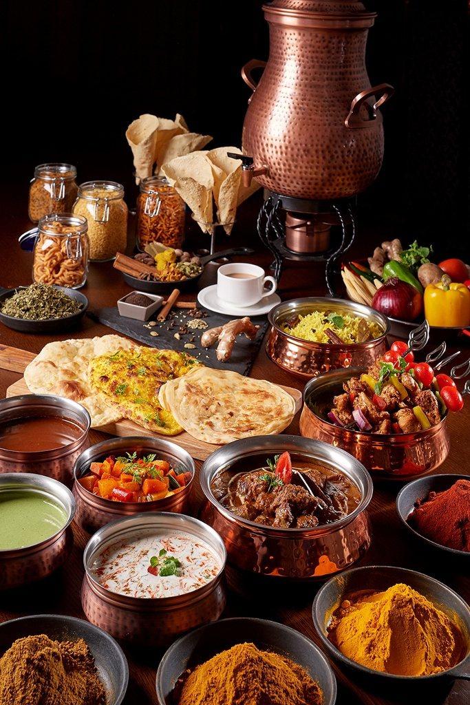 彩匯自助餐廳印度美饌。業者/提供