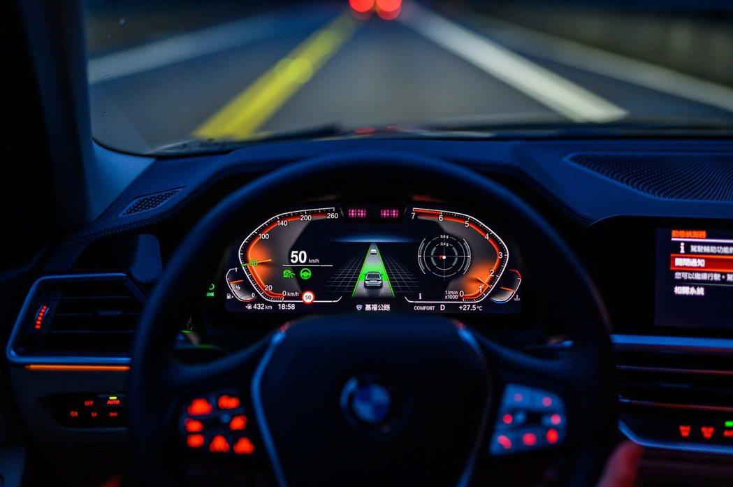 全新BMW 318i Luxury以最高安全規格搭載BMW Personal C...