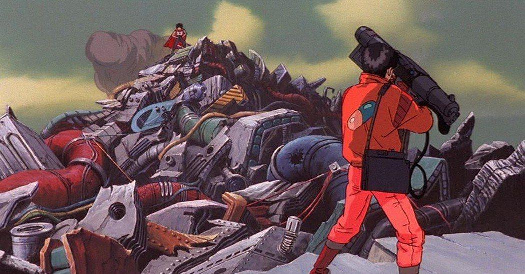 金田獲得了能與鐵雄抗衡的雷射槍,敢於和鐵雄正面迎擊。 圖/IMDb