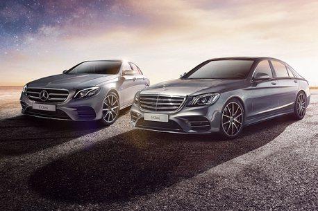罕見!賓士中大型豪華房車陣線S-Class、E-Class推優惠購車方案
