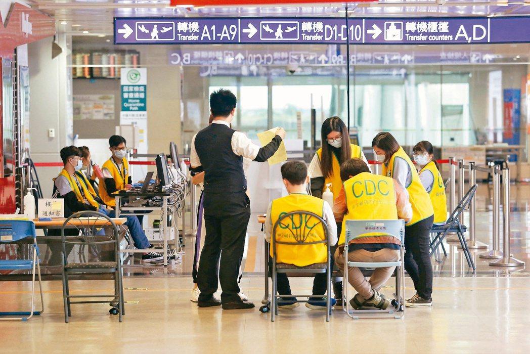 外籍人士入境需檢附核酸檢驗陰性報告,原規定報告出爐日需為登機前的三天內,昨放寬至...