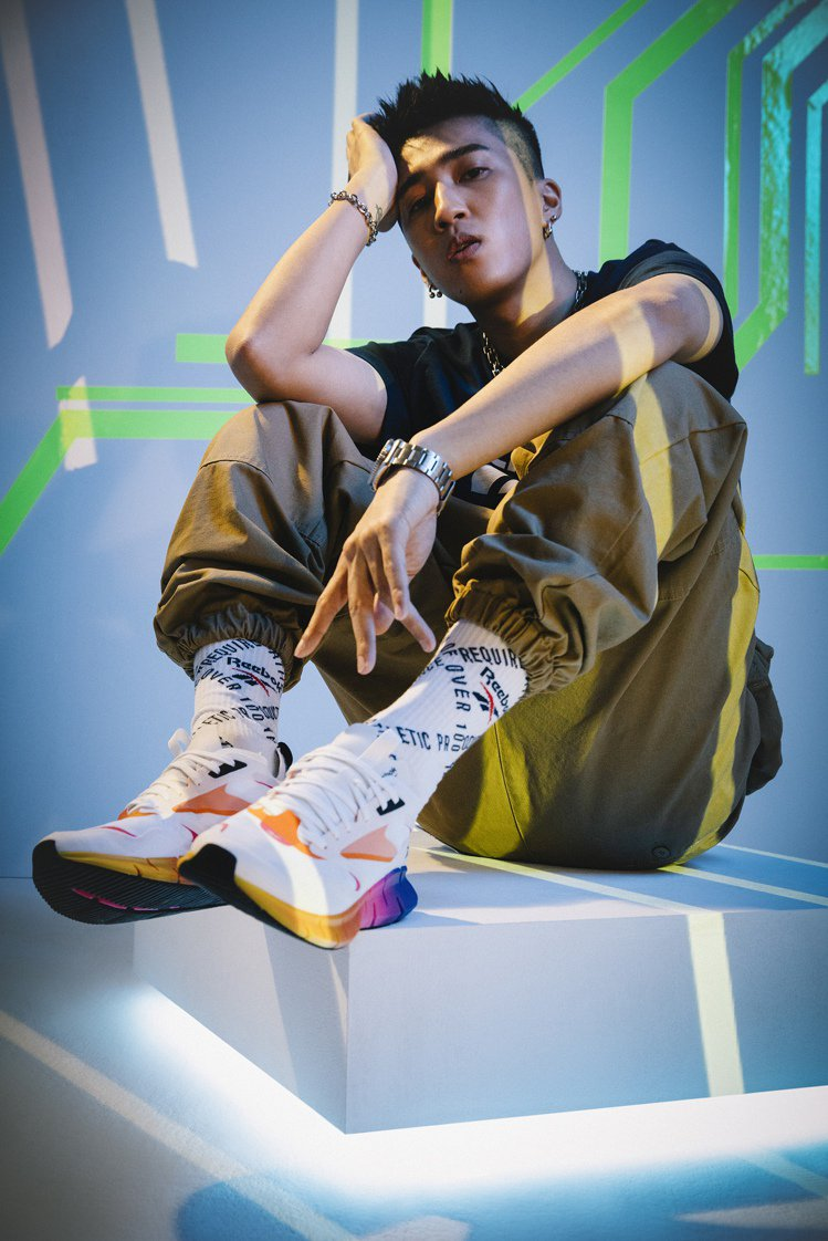 婁峻碩詮釋Reebok全新Zig Horizon系列鞋。圖/Reebok提供