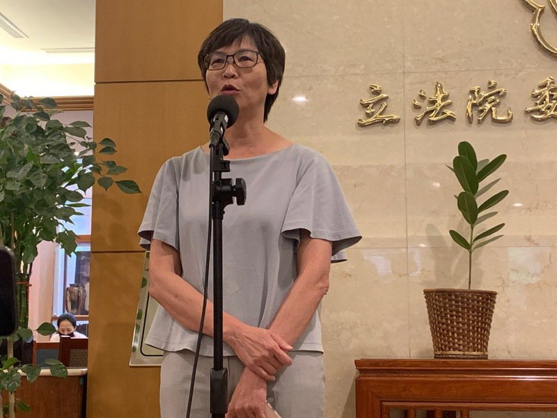 台灣民眾黨立委蔡壁如。記者蔡晉宇/攝影