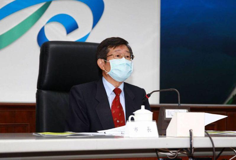 高雄市代理市長楊明州今天首度主持治安會報,請警方對市長補選做好查賄制工作。記者林保光/翻攝