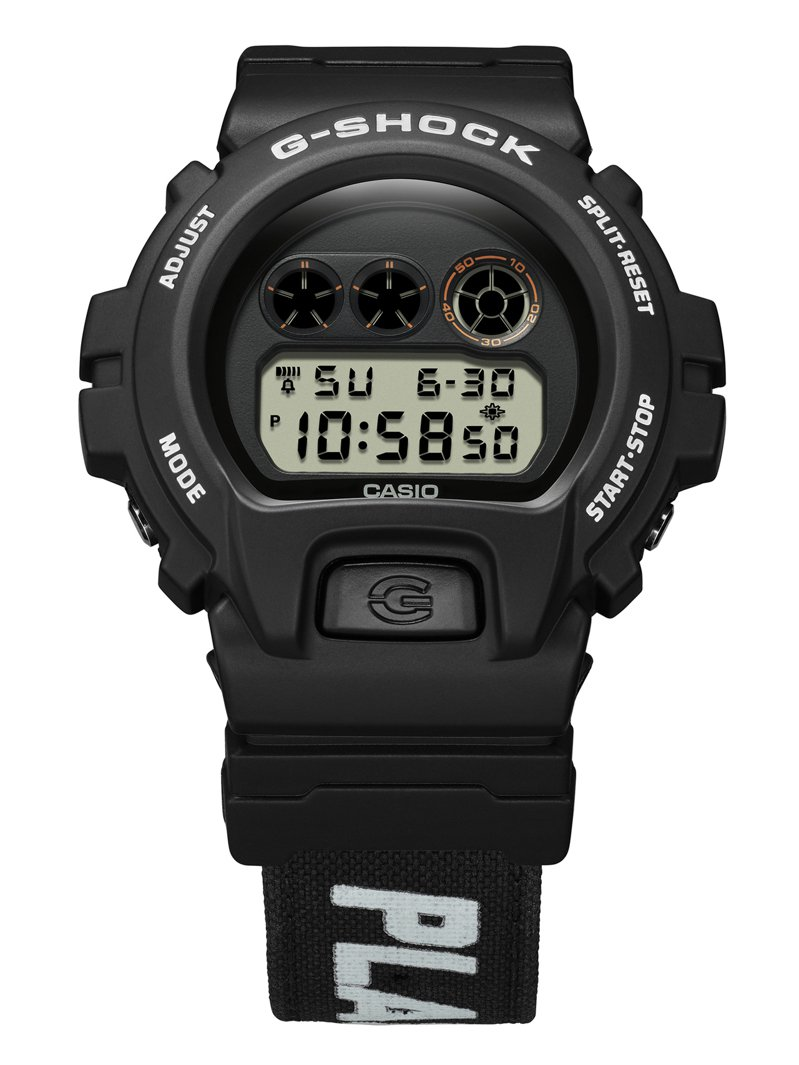 G-Shock DW-6900PF-1聯名腕表4,000元。圖/Casio提供