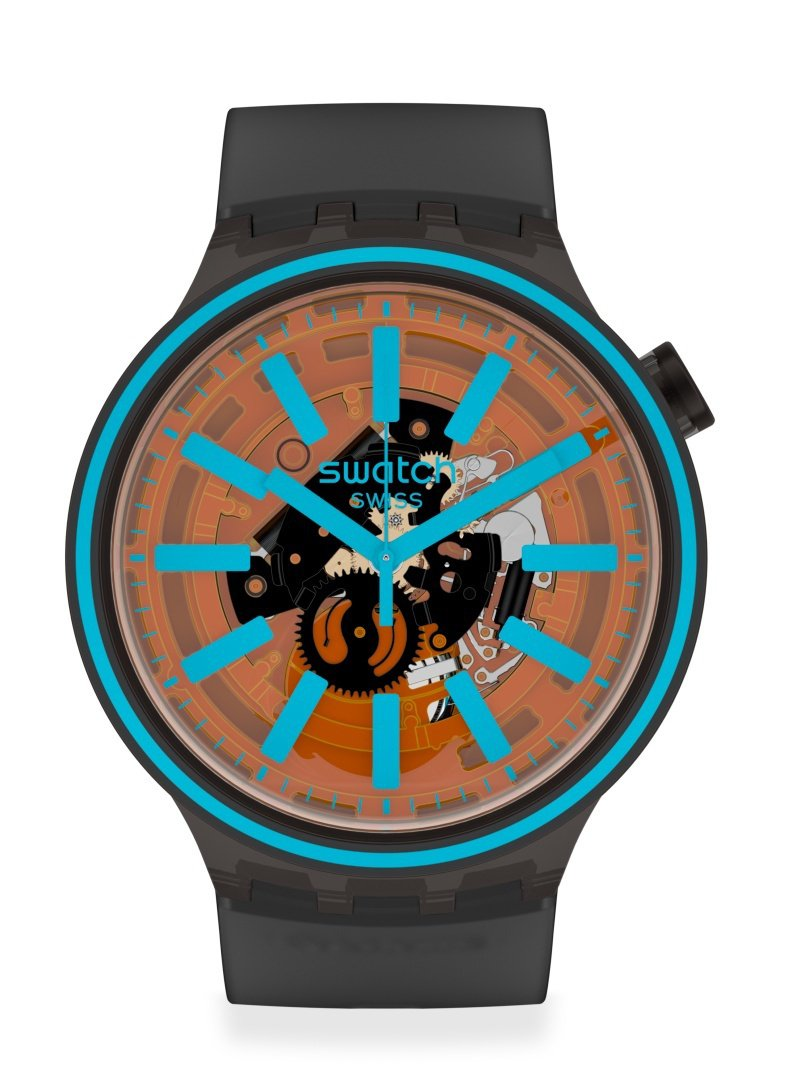 SWATCH Big Bold SPECTRUM系列腕表3,600元。圖/SWATCH提供