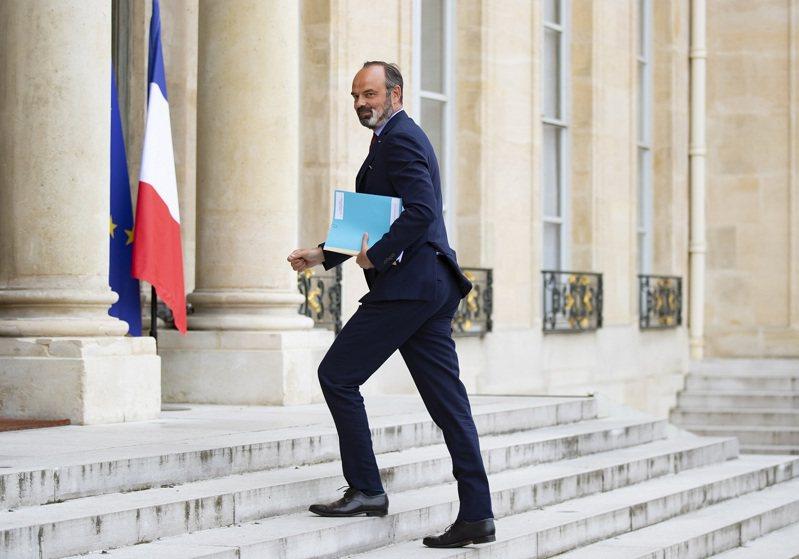 法國總理菲力普,攝於2日。艾利榭宮3日宣布菲力普請辭獲准。歐新