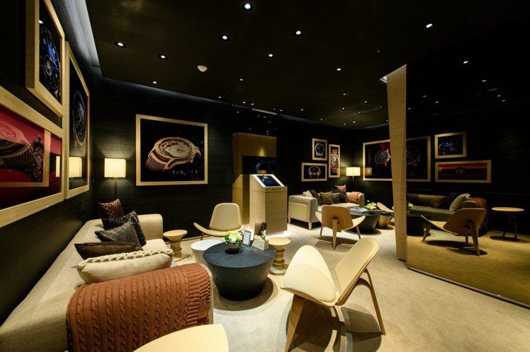 二樓的空間雅緻而舒適,愛彼未來預計將在此舉辦貴賓或workshop講座活動。圖 ...