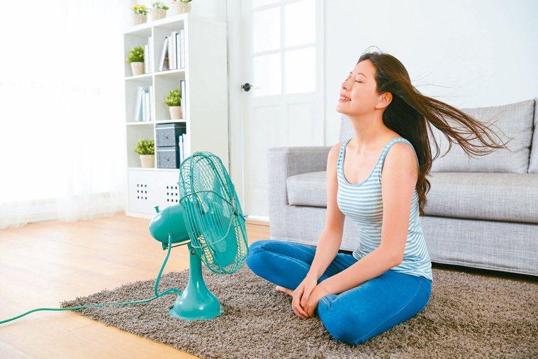 很多人不知道在家也會中暑。圖/123RF