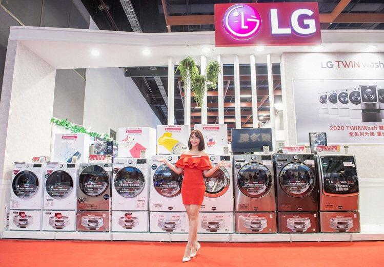 LG TWINWash雙能洗洗衣機產品線從9公斤、10.5公斤、12公斤、15公...