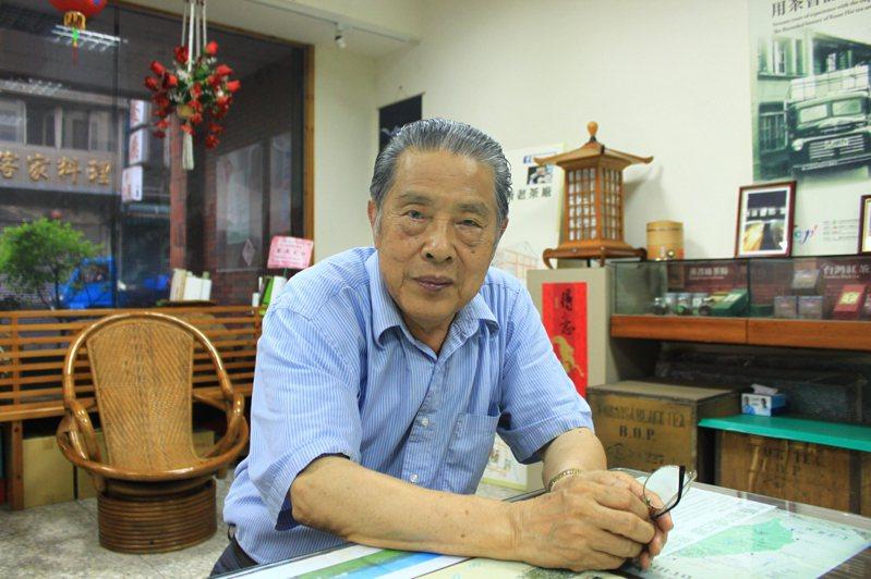 羅慶士先生為台灣茶界奉獻一生,更積極為客語復振努力。圖/本報系資料照片