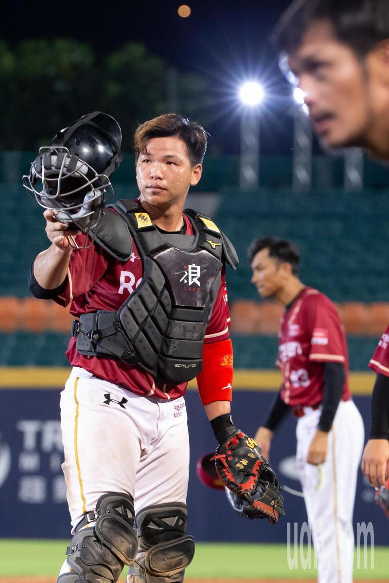 樂天桃猿廖健富獲得單場MVP。記者季相儒/攝影