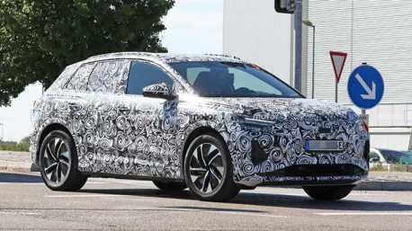 全新Audi Q4 e-tron終於穿對衣服了 展現量產版輪廓