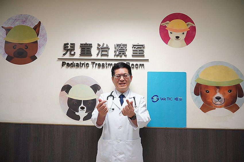 聯新國際醫院小兒科主任薛常威。 聯新國際醫院/提供