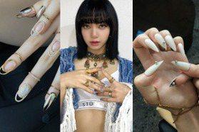 指甲戴的首飾有望成為新趨勢!BLACKPINK回歸指彩造型美翻