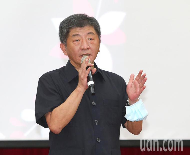衛福部長陳時中。記者林澔一/攝影