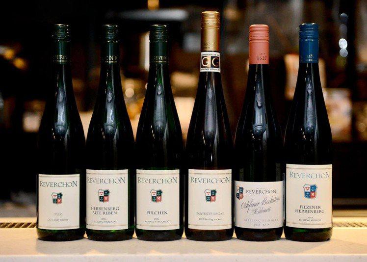 來自德國最古老葡萄酒產區Mosel的雷布雄酒莊(Reverchon),除有百年歷...