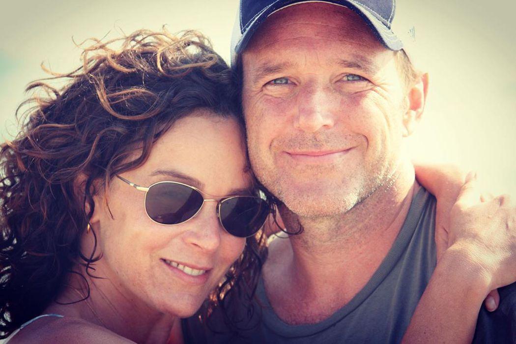 珍妮佛葛蕾(左)與克拉克葛雷格決定結束19年的婚姻。圖/摘自Instagram